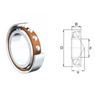 45 mm x 100 mm x 25 mm  ZEN S7309B angular contact ball bearings
