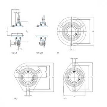 SKF PF 15 FM bearing units