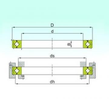 500 mm x 680 mm x 70 mm  ISB CRBC 50070 thrust roller bearings