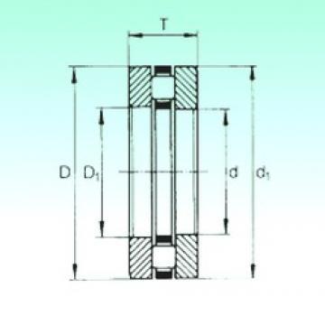 260 mm x 360 mm x 23,5 mm  NBS 81252-M thrust roller bearings