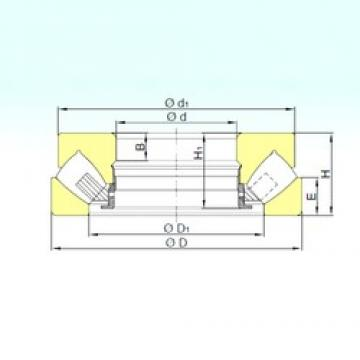 80 mm x 170 mm x 19 mm  ISB 29416 M thrust roller bearings