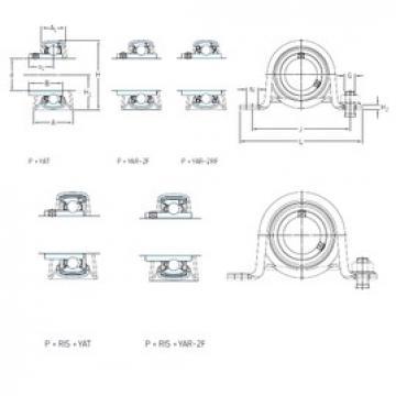 SKF P 30 TF bearing units