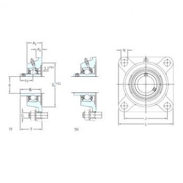 SKF FYM 1.1/2 TF bearing units