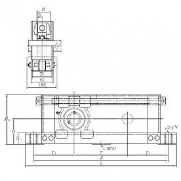KOYO UCTU208-700 bearing units