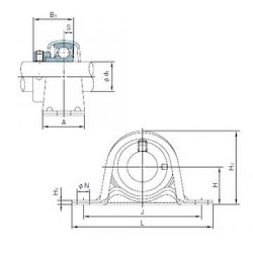 NACHI UCF218 bearing units