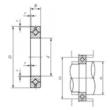 50 mm x 80 mm x 13 mm  IKO CRBH 5013 A thrust roller bearings