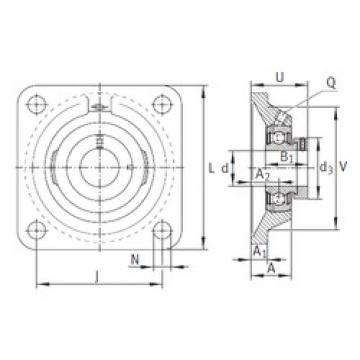 INA PCJ60-N bearing units