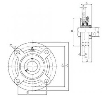 30 mm x 85 mm x 42,9 mm  ISO UCFCX06 bearing units