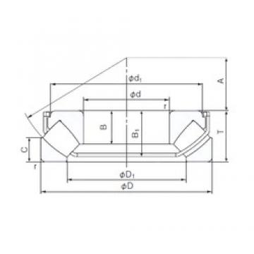 60 mm x 130 mm x 27 mm  NACHI 29412EX thrust roller bearings