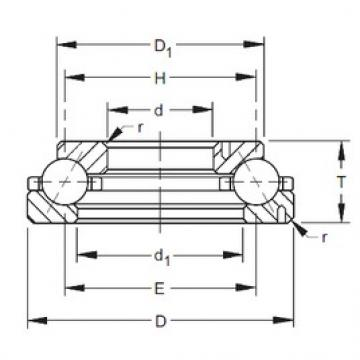 Timken 245TVL612 angular contact ball bearings