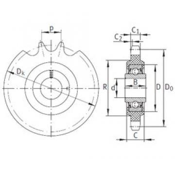 16,2 mm x 40 mm x 18,3 mm  INA KSR16-L0-12-10-15-22 bearing units