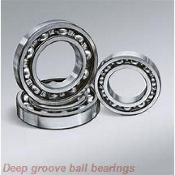 25 mm x 47 mm x 12 mm  NKE 6005-NR deep groove ball bearings