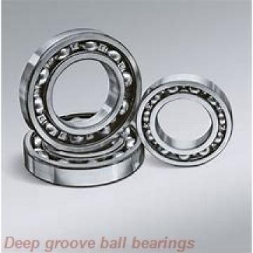 3 mm x 13 mm x 5 mm  KOYO F633 deep groove ball bearings