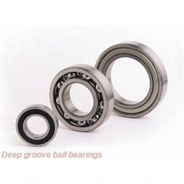 12 mm x 21 mm x 5 mm  SKF W 61801-2RS1 deep groove ball bearings