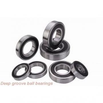60 mm x 110 mm x 22 mm  Timken 212KD deep groove ball bearings