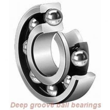 20 mm x 52 mm x 15 mm  NSK 6304DDU deep groove ball bearings