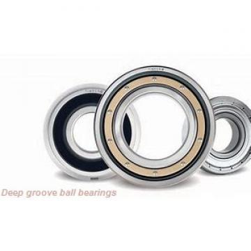 4 mm x 16 mm x 5 mm  KOYO 634 deep groove ball bearings