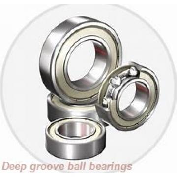 8 mm x 19 mm x 6 mm  NMB RF-1980ZZ deep groove ball bearings