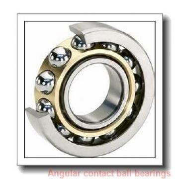 120 mm x 215 mm x 40 mm  NTN 7224CT1B/GNP42 angular contact ball bearings