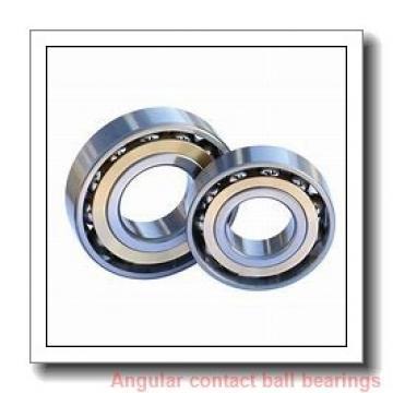 45 mm x 84 mm x 42 mm  PFI PW45840042/40CS angular contact ball bearings