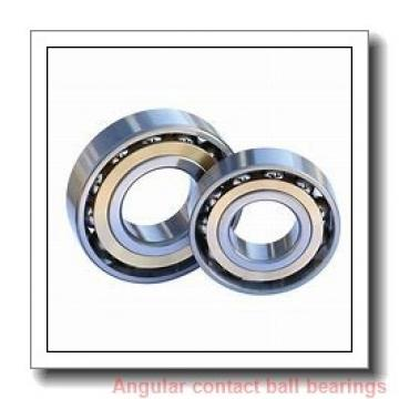 85 mm x 180 mm x 41 mm  SKF 7317 BEGAF angular contact ball bearings