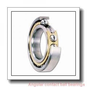 85 mm x 180 mm x 41 mm  NACHI 7317BDB angular contact ball bearings