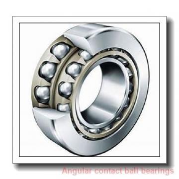 90,000 mm x 190,000 mm x 43,000 mm  NTN 7318BG angular contact ball bearings