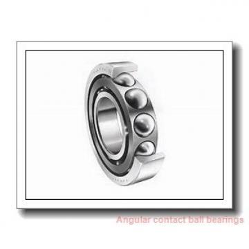 35 mm x 80 mm x 21 mm  SKF QJ 307 N2PHAS angular contact ball bearings