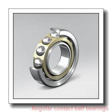 30 mm x 62 mm x 16 mm  NSK 7206 C angular contact ball bearings