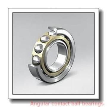 40 mm x 74 mm x 40 mm  PFI PW40740040CS angular contact ball bearings