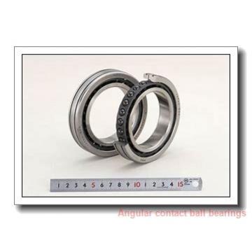 ISO 707 A angular contact ball bearings