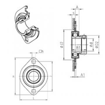 SNR ESPFL202 bearing units