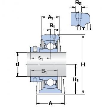 SKF SYF 20 FM bearing units