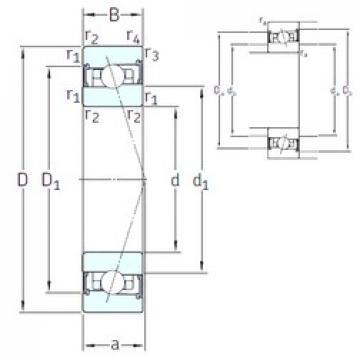 85 mm x 130 mm x 22 mm  SNFA HX85 /S/NS 7CE1 angular contact ball bearings