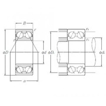 35 mm x 72 mm x 27 mm  NTN 5207S angular contact ball bearings