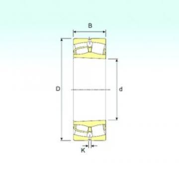 40 mm x 90 mm x 33 mm  ISB 22308 K spherical roller bearings