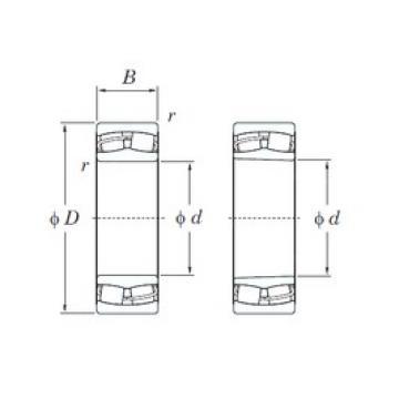 50 mm x 110 mm x 27 mm  KOYO 21310RH spherical roller bearings