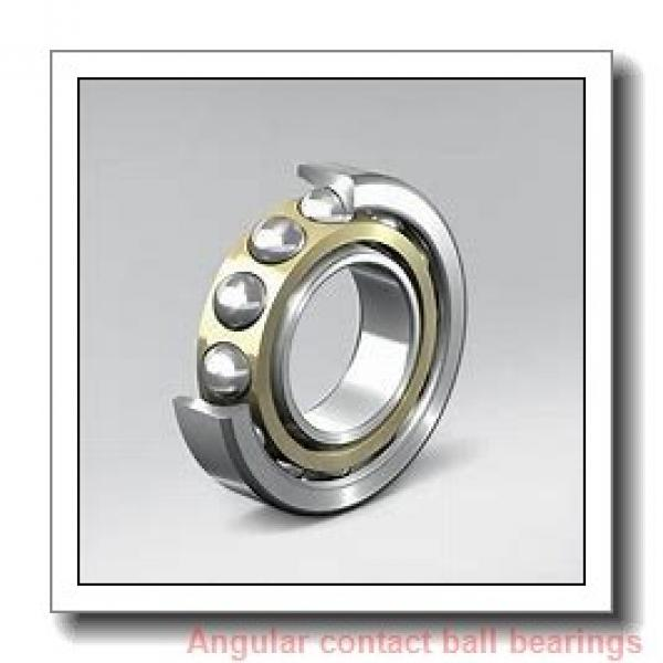 40 mm x 68 mm x 15 mm  SKF 7008 ACD/P4AH angular contact ball bearings #1 image