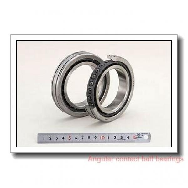 100 mm x 150 mm x 24 mm  SKF S7020 CB/P4A angular contact ball bearings #1 image
